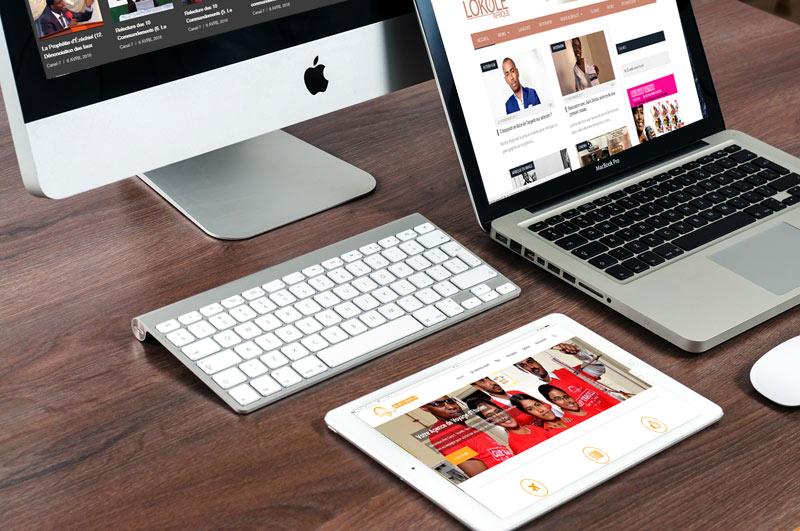 agence web ou de création de site internet à kinhsasa